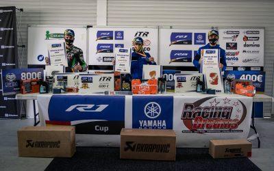 Paquita Ruíz se convierte en la primera campeona de la Yamaha R6 Cup